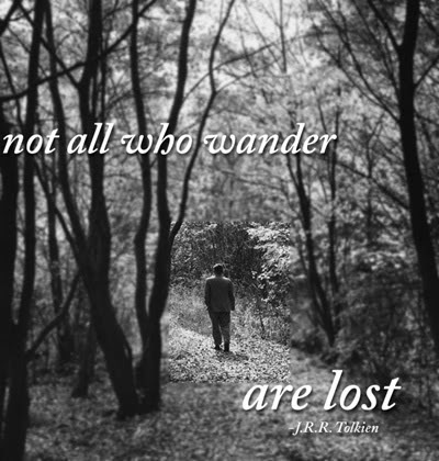 Namhlalicious: Not all who wander are lost