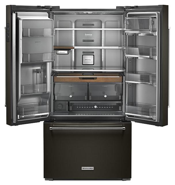 Krfc704fbs Counter Depth French Door Refrigerator