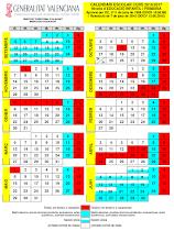 Calendario Laboral 2020 Comunidad Valenciana Dogv.Normativa Educacion Comunidad Valenciana
