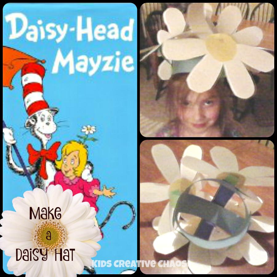 Happy birthday dr seuss daisy head mayzie activities and craft daisy head mayzie maisy activities make a daisy hat izmirmasajfo