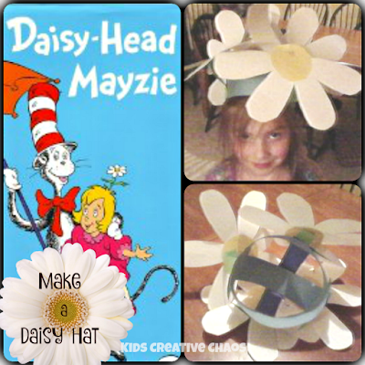 Daisy Head Mayzie Maisy Activities: Make a Daisy Hat
