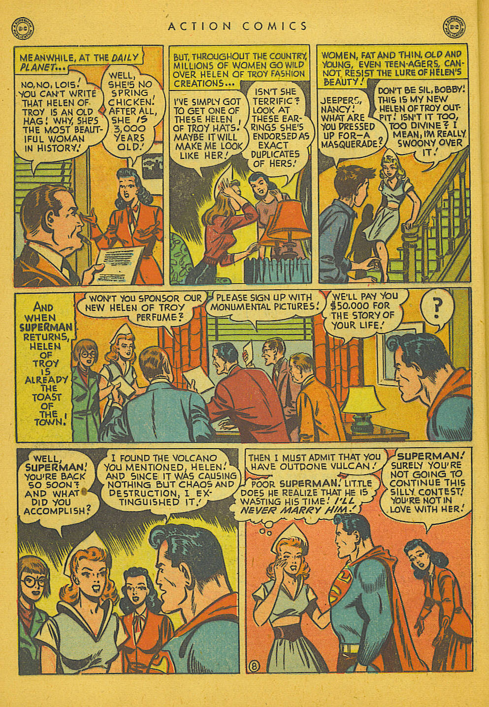 Action Comics (1938) 133 Page 8