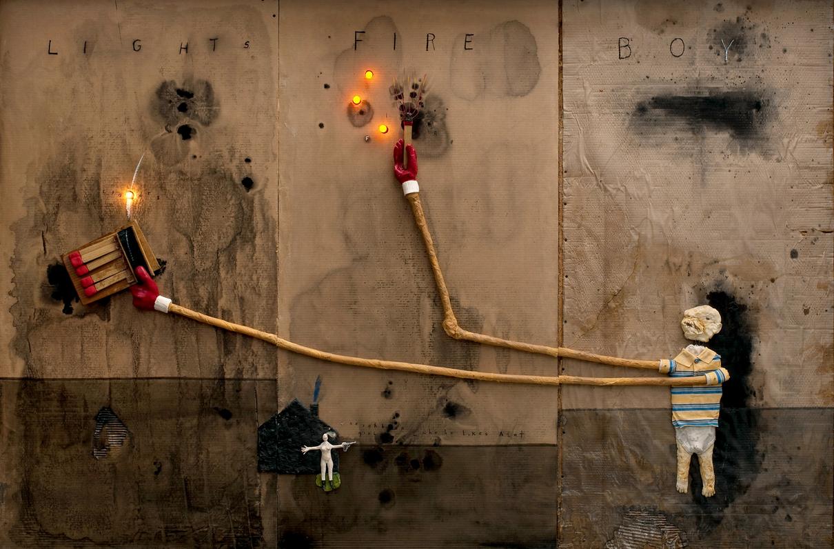 David Lynch Artwork Retrospective A Piece Of Monologue