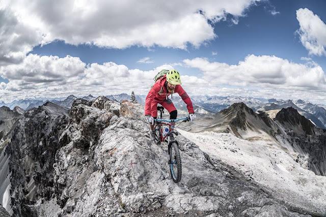 Abfahrt Piz Umbrail Mountainbike