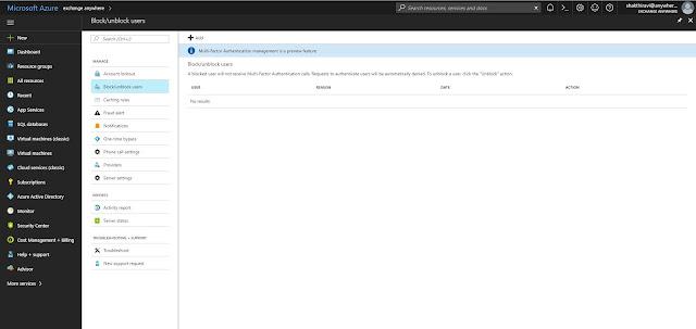 Exchange Anywhere: Configure Azure Multi-Factor