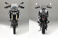 BMW F 800 GS (2017) Front and Rear