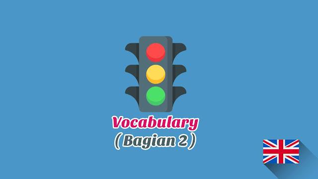 Kosakata Bahasa Inggris Lalu lintas Disertai Gambar, Audio Dan Pronunciation (Bagian 2)