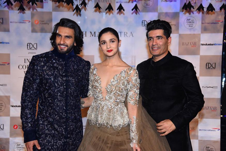 Alia Bhatt at India Couture Week 2017 Stunning Stills