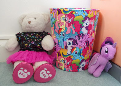 Fabric Waste Paper Bin
