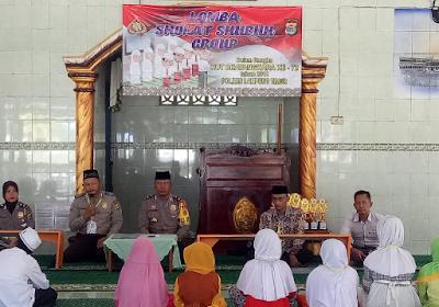 HUT Bhayangkara ke-72, Polres Lampung Timur Gelar Lomba Azan, Tata Cara Sholat Subuh dan Hafiz Cilik