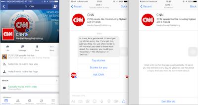 Bertanya Sesuatu Dengan Chatbot Di Facebook Messenger
