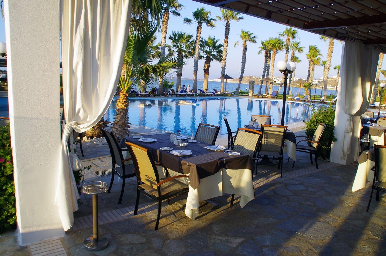 Astir of Paros Poolside Dining