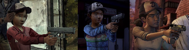 The evolution of Clementine TellTale Games