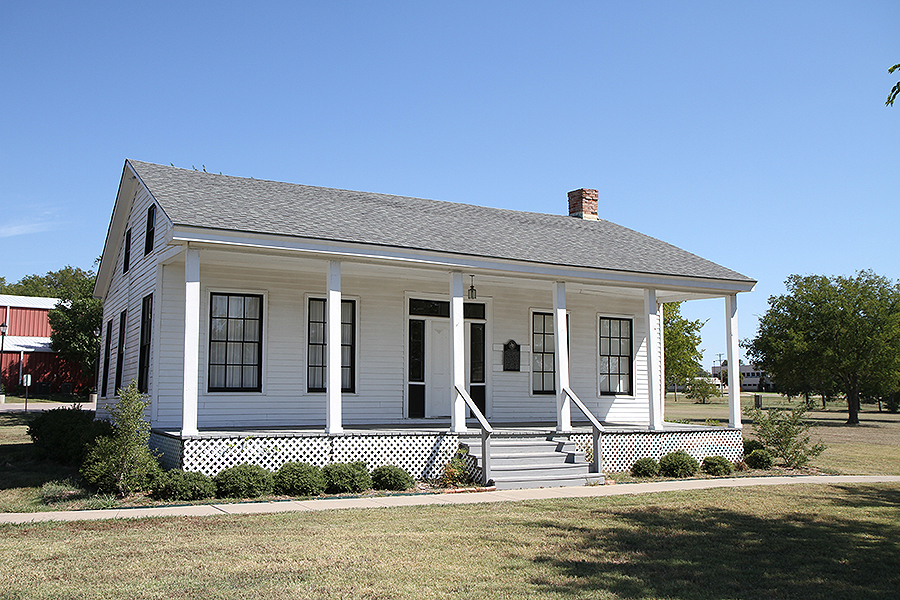 Texas Historical Markers The Ende Gaillard House
