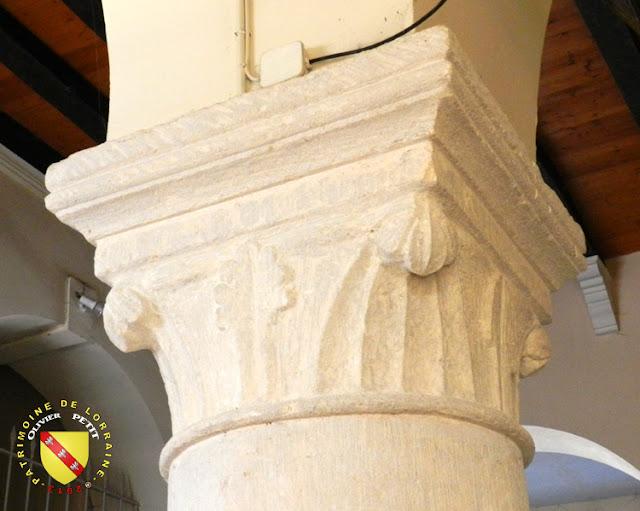 KOEUR-LA-GRANDE (55) - Eglise Saint-Martin - Chapiteau roman