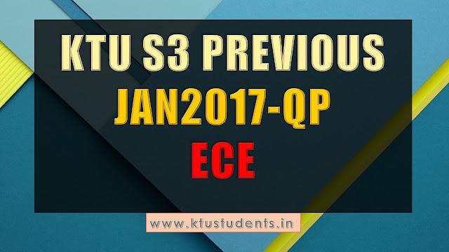 ECE S3 QP