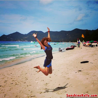My Coolest Moments Photo, beach holiday, jumping pose, jump, koh samui, thailand