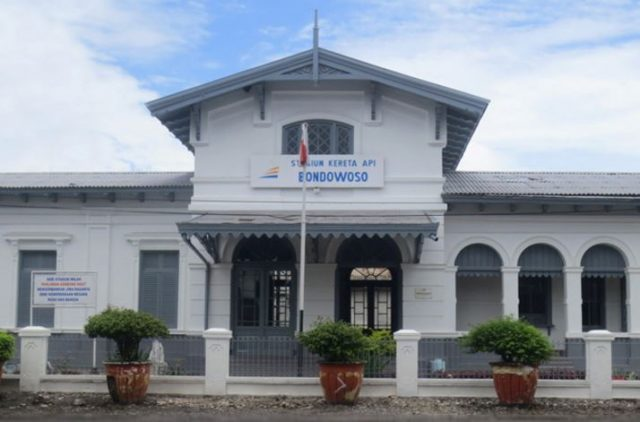Museum Kereta Api Bondowoso.