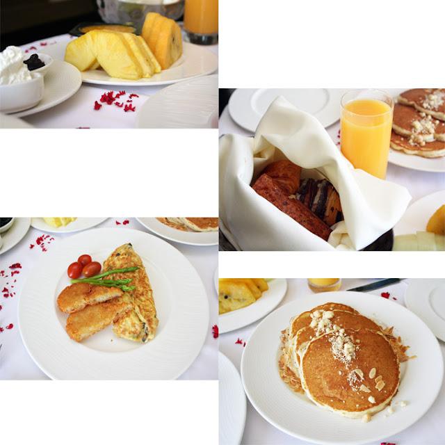 Marco Polo Ortigas Manila Room Service Breakfast Pancakes