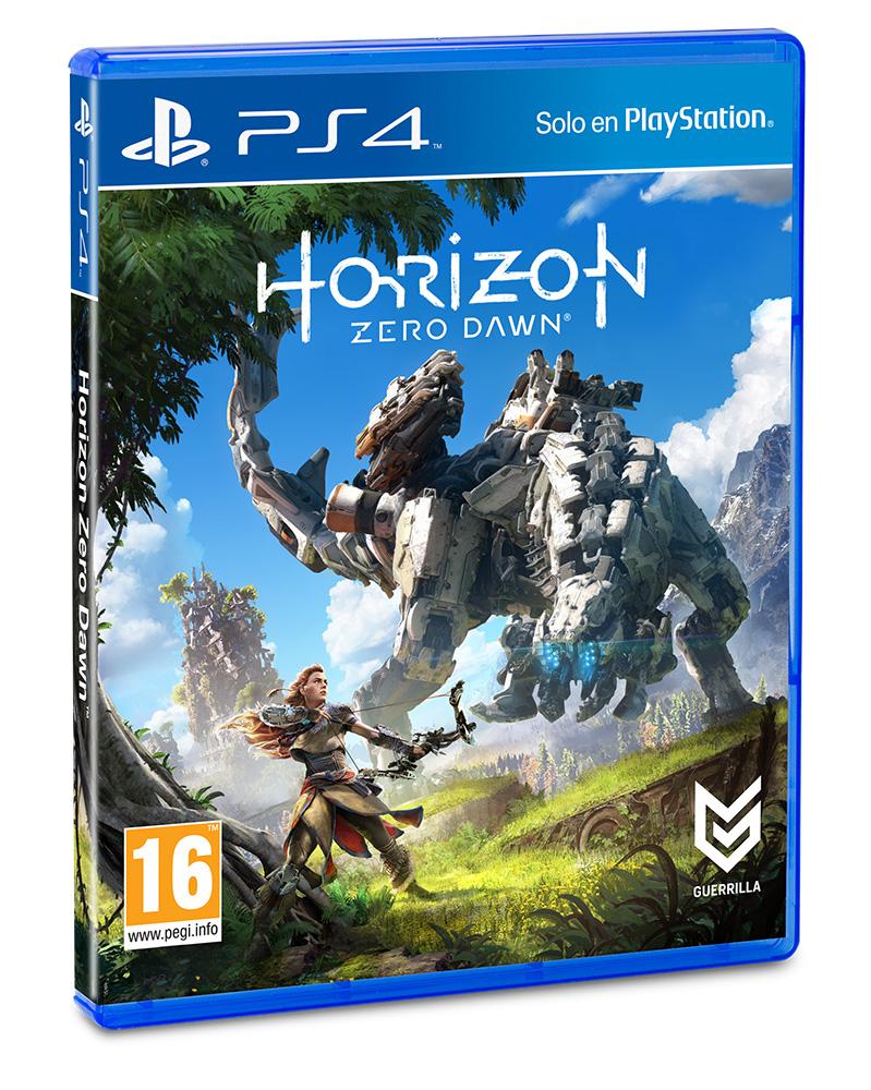 Horizon Zero Dawn se actualiza con un modo más fácil