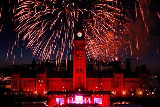 Canada Day Fireworks 2017