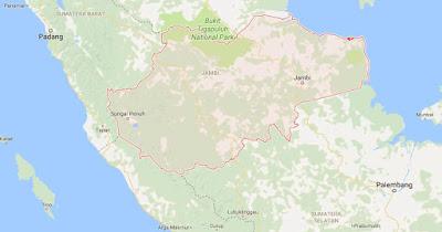 Peta Wilayah Provinsi Jambi