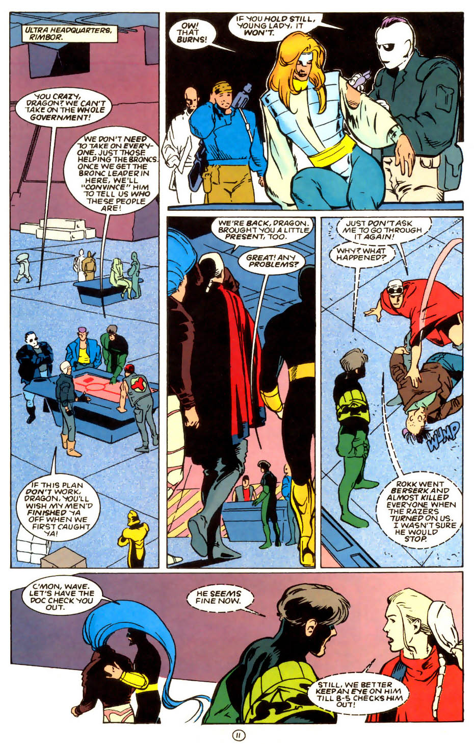 Legion of Super-Heroes (1989) 56 Page 11