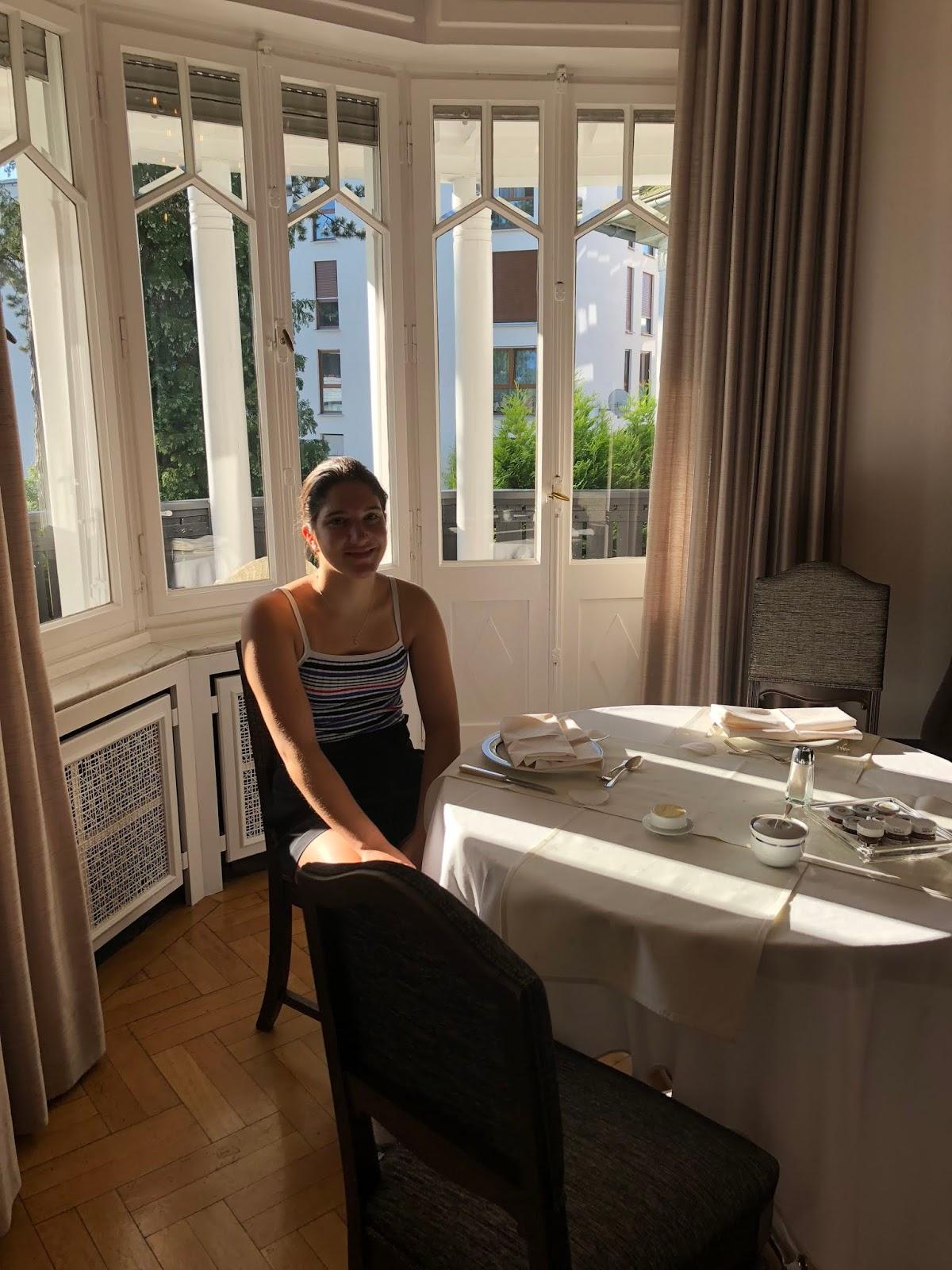 Frühstück mit meiner Ältesten im Hotel Scarpati, Wuppertal