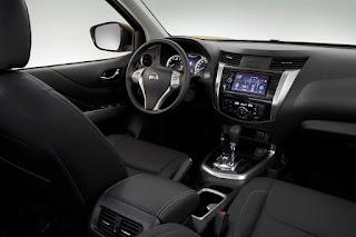 2018 Nissan Terra SUV interior