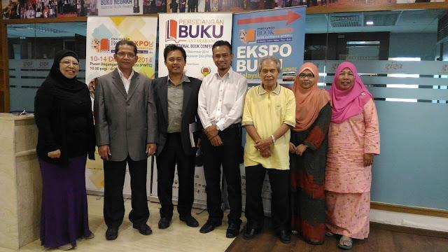 Mesyuarat Jawatankuasa Induk Ekspo Buku Malaysia 2016,