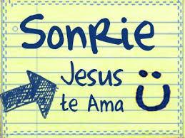 Sonrie Jesús Te Ama