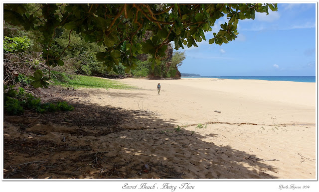 Secret Beach: Being There