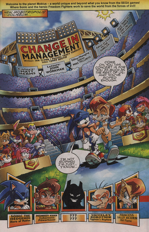 Read online Sonic The Hedgehog comic -  Issue #201 - 2