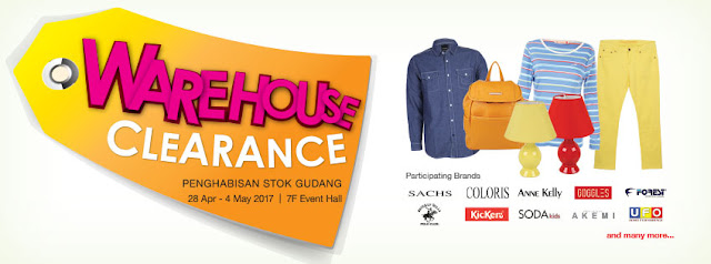 KL SOGO Warehouse Clearance Sale