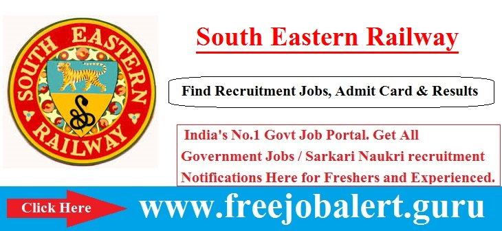 RRC South Eastern Railway | 3136 Trackman Helper | 3136 Vacancies Candidate age limit is 18 to 32 years