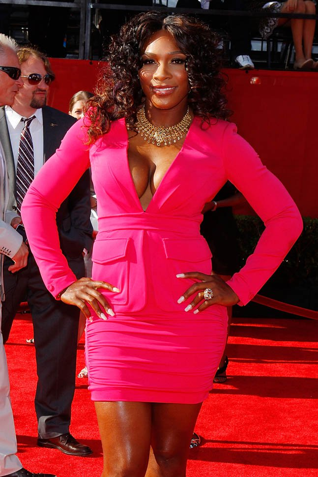 Serena Williams attends the 2011 ESPY Awards held at the Nokia Theatre L.A. Live on July 13, 2011 in Los Angeles, California
