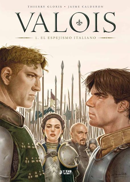 """Lo nuevo de Jaime Calderón, """"Valois"""""""
