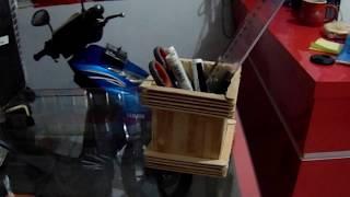 Membuat Tempat Penyimpanan Pensil Dari Stik Es Krim