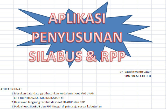 Aplikasi Penyusun Silabus RPP