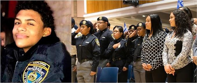 El NYPD entrega primeras becas en memoria del adolescente asesinado Lesandro Guzmán Feliz