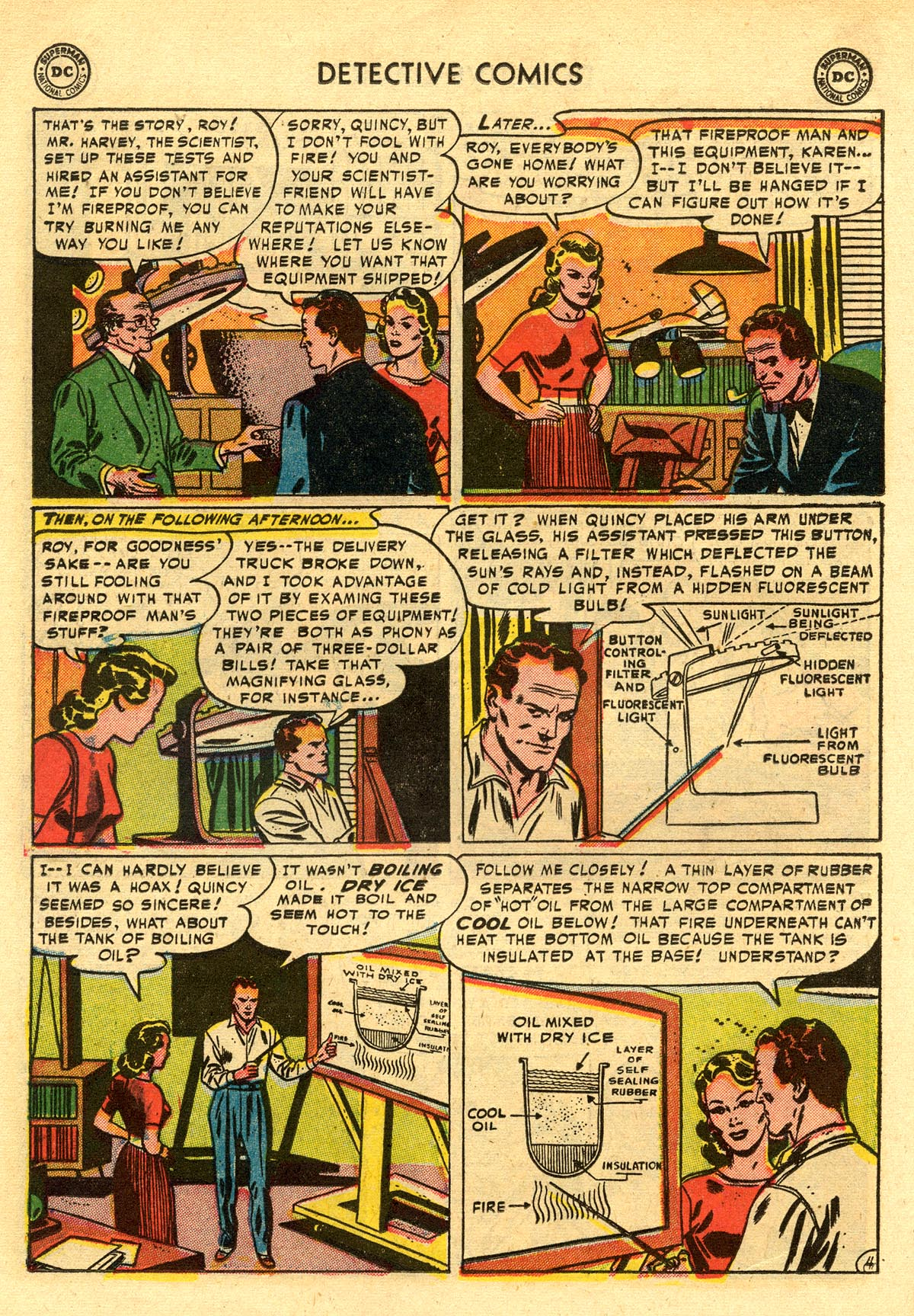 Read online Detective Comics (1937) comic -  Issue #203 - 20
