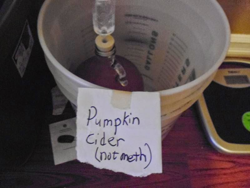 Pumpkin Cider not meth