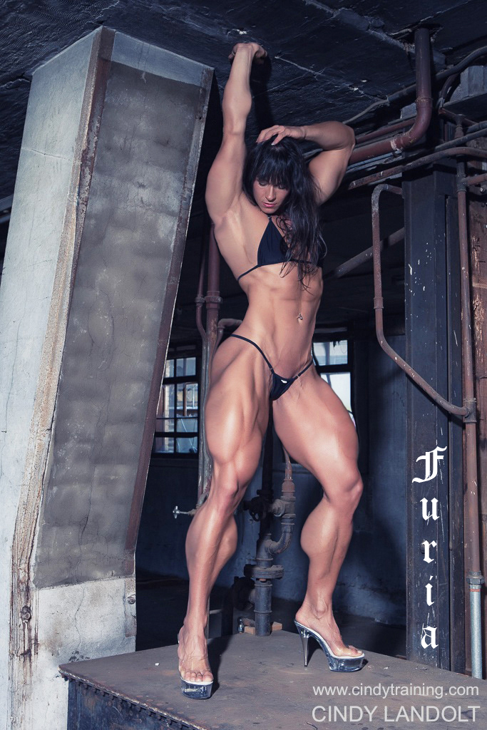 Sexy Naked Muscle Girls