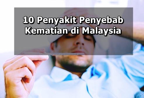 10 Penyakit Penyebab Kematian di Malaysia