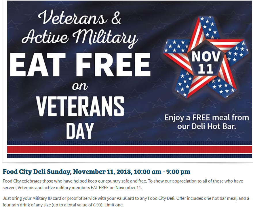Saint Elmo Mom Of Chattanooga Tennessee Veterans Deal At Food City