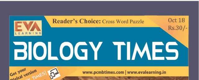 Biology Times Magazine October 2018