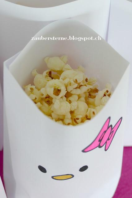 Hello Kitty Popcorntüte DiY, Tüte selber machen