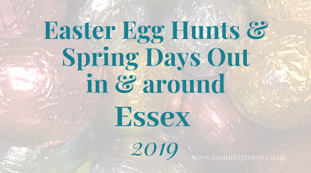 Easter holiday activties and egg hunts for children in Essex