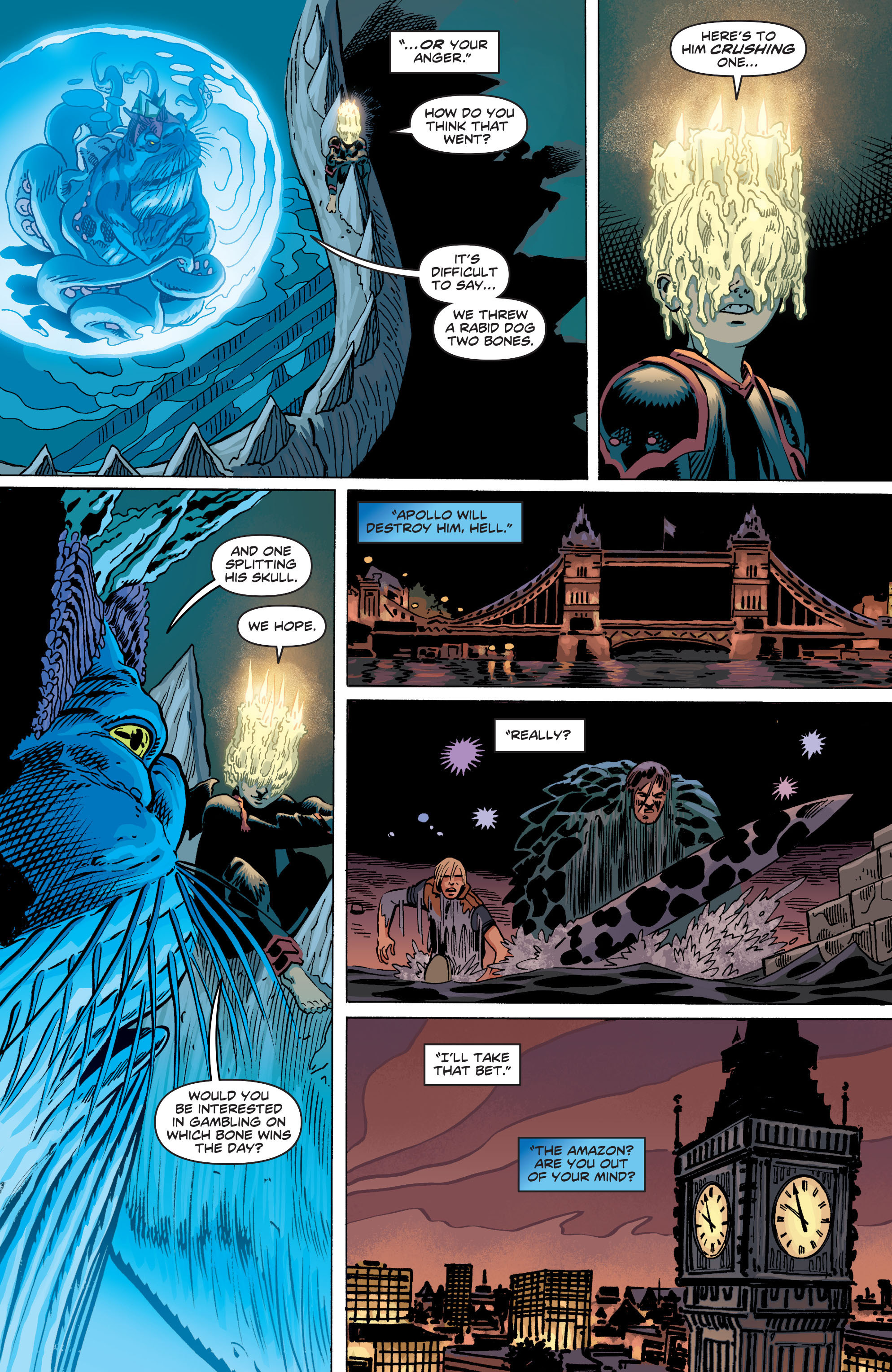 Read online Wonder Woman (2011) comic -  Issue #19 - 21