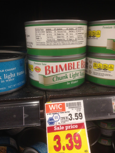 Chunk Light Tuna, 12 oz, Bumble Bee - Kroger